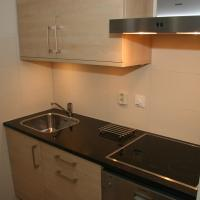 Vleijenhof 20, Ameland, keuken is voorzien van alle gemakken